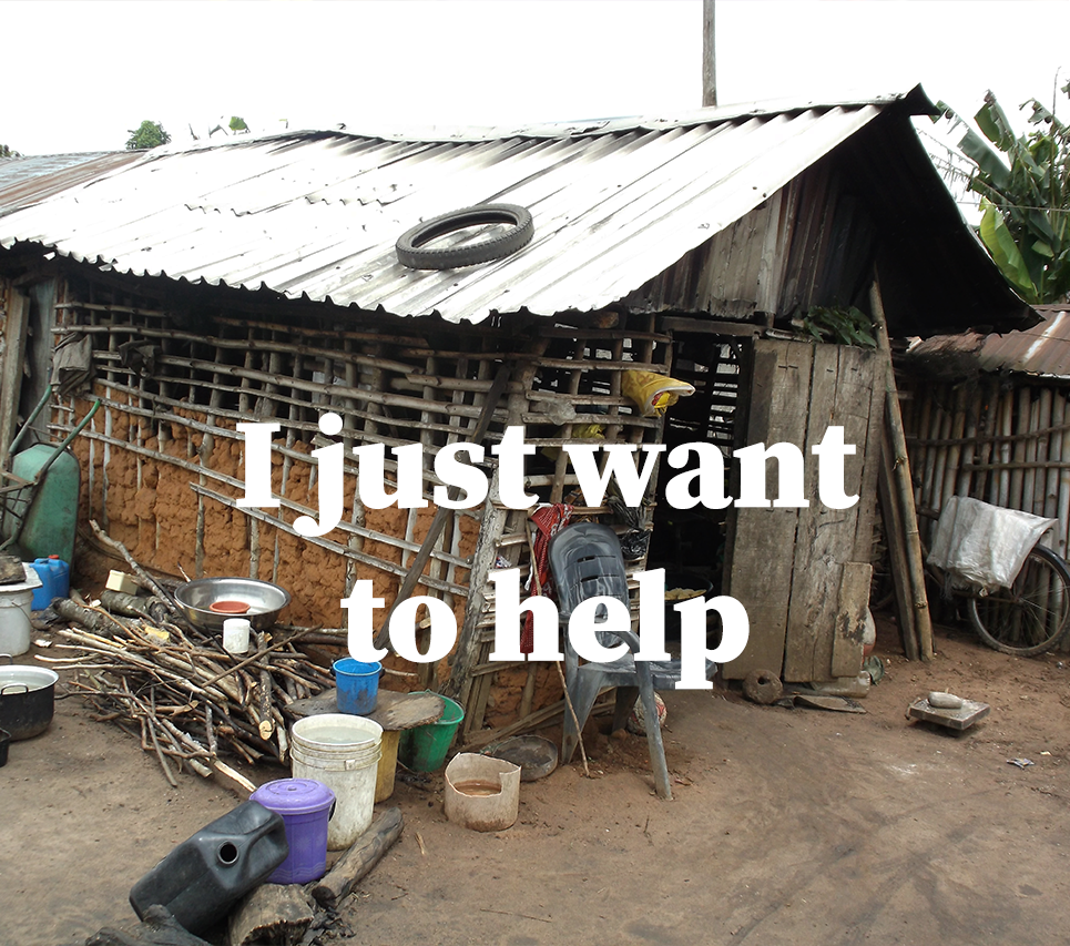 want to help